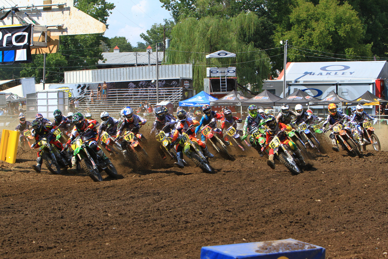 250B Stock start - Day 2: 2012 Red Bull AMA Amateur National Motocross Championships - Motocross Pictures - Vital MX