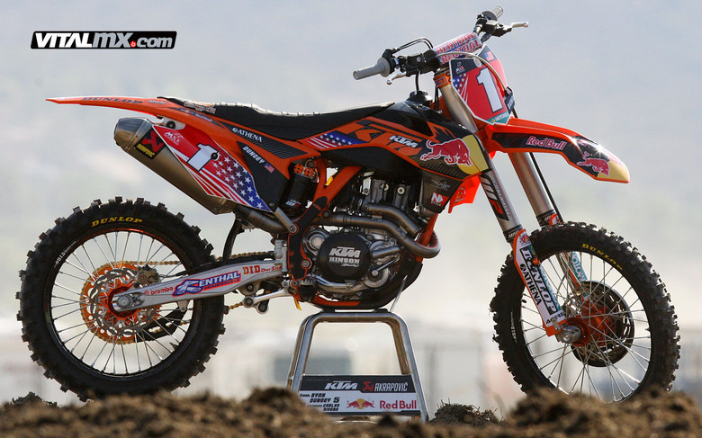 Ryan Dungey - Bikes of Team USA - Motocross Pictures - Vital MX