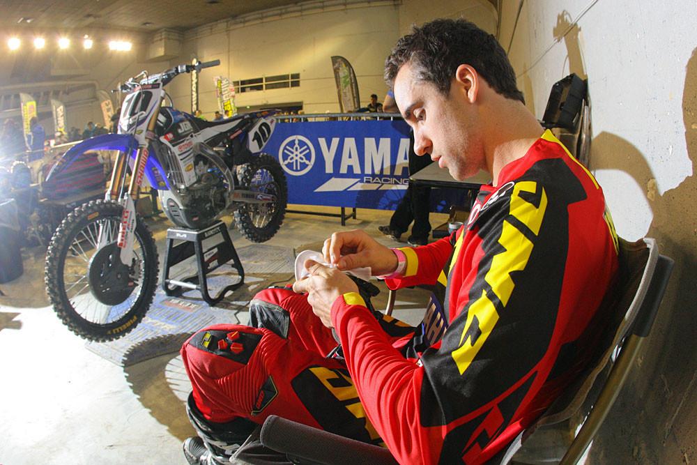 Justin Brayton - Photo Blast: Bercy Night Three - Motocross Pictures - Vital MX