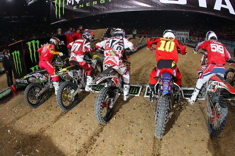 Heat Race Three - Photo Blast: Bercy Night Three - Motocross Pictures - Vital MX