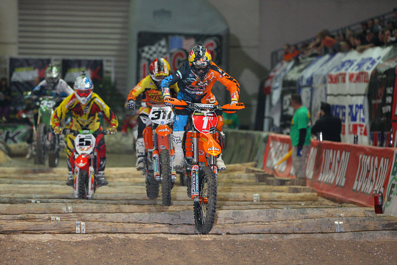 First main event - Photo Blast: Las Vegas Endurocross Finals - Motocross Pictures - Vital MX