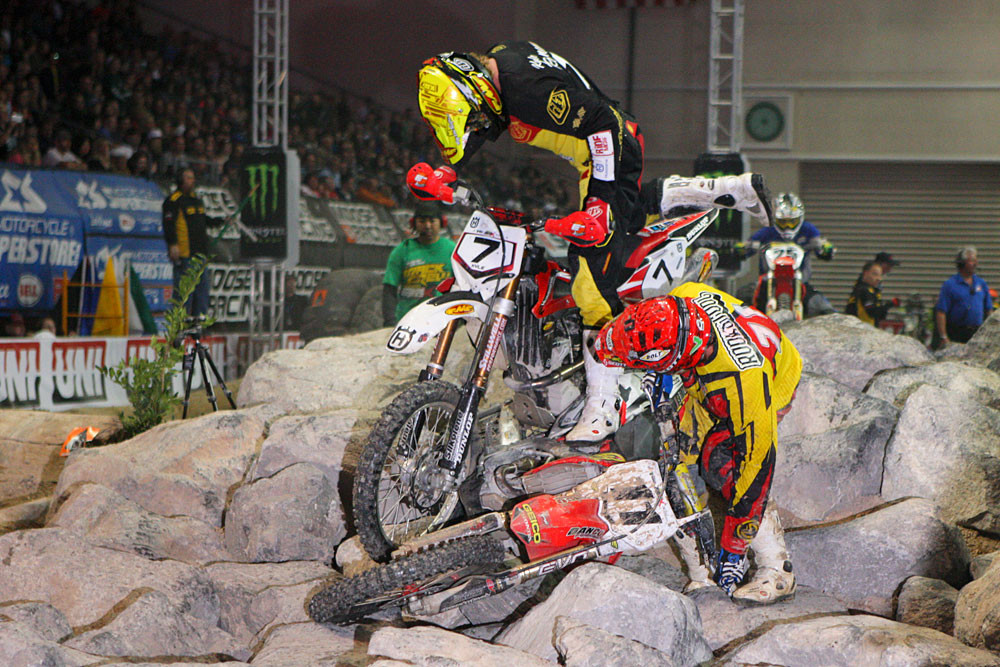 Making your bike feel heavier - Photo Blast: Las Vegas Endurocross Finals - Motocross Pictures - Vital MX