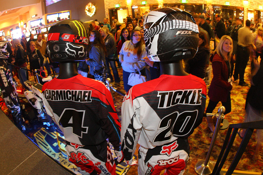 Ricky Carmichael and Broc Tickle - RCH at Sycuan - Motocross Pictures - Vital MX
