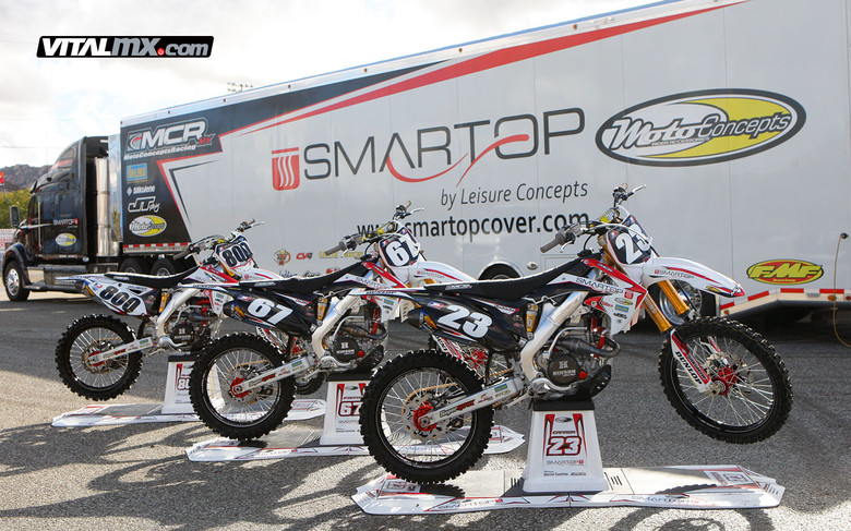 2013 MotoConcepts Smartop Racing Team Intro