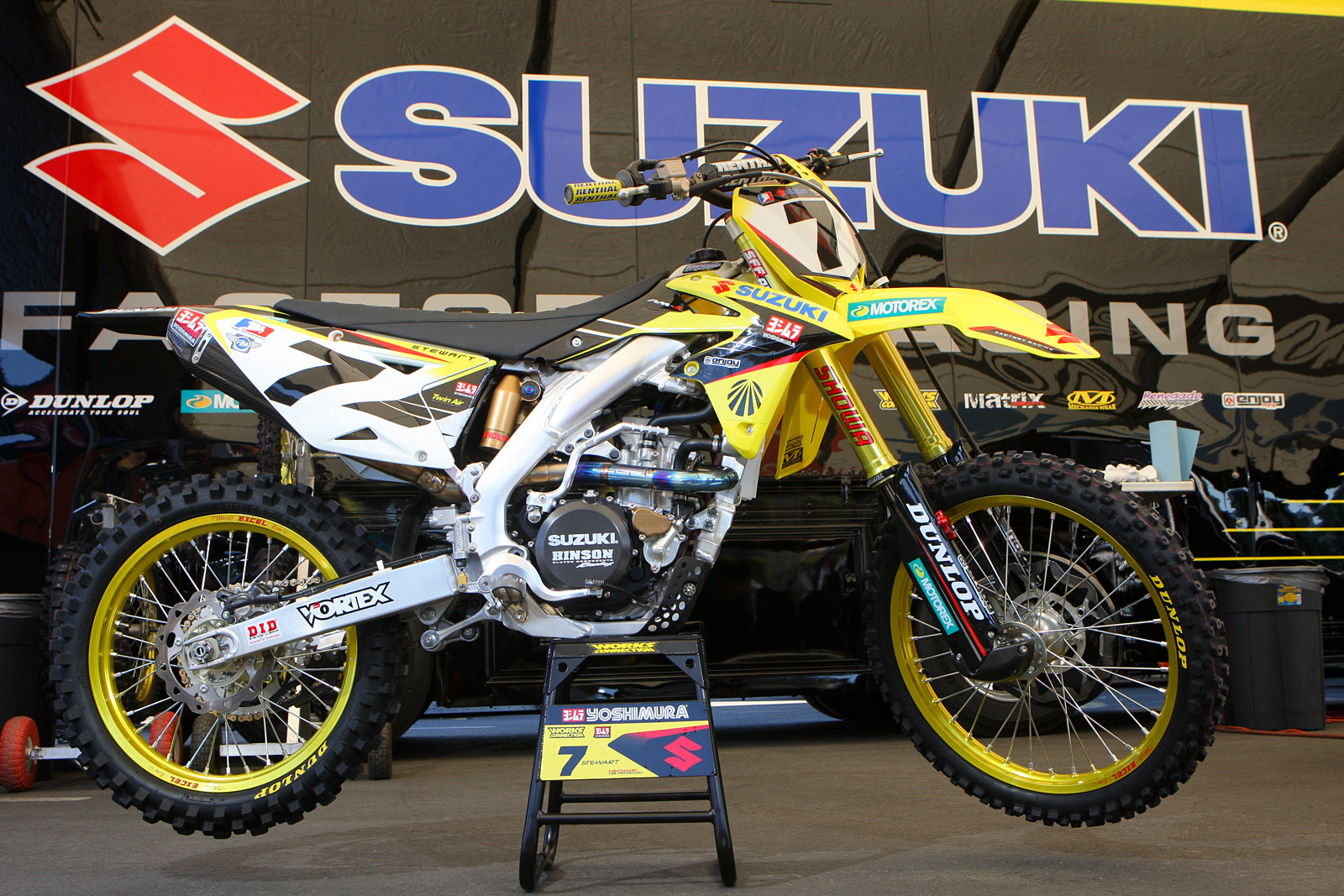 James Stewart - Bikes of Supercross 2013 - Motocross Pictures - Vital MX
