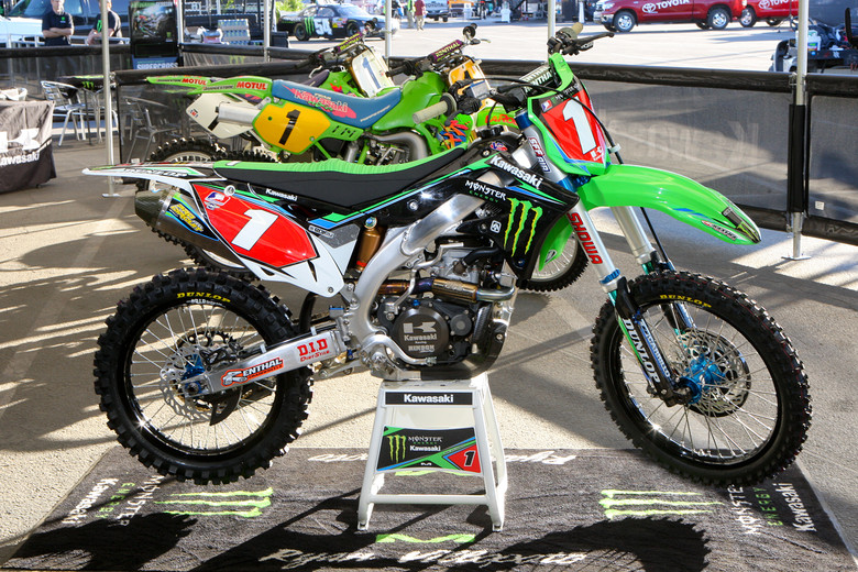 Ryan Villopoto - Bikes of Supercross 2013 - Motocross Pictures - Vital MX