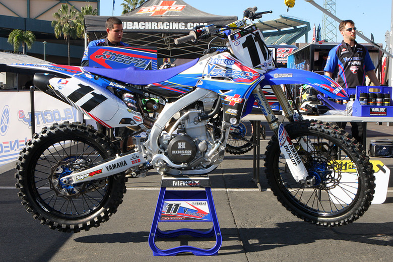 Kyle Chisholm - Vital MX Pit Bits: Anaheim 1 - Motocross Pictures - Vital MX