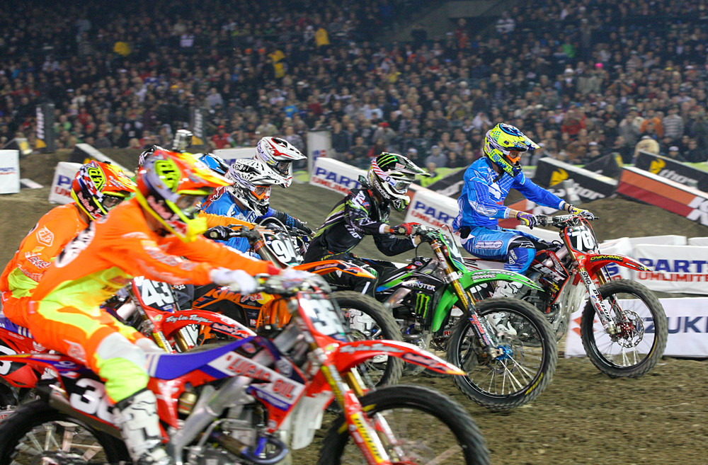 250 Heat One - Photo Blast: Anaheim 1 - Motocross Pictures - Vital MX