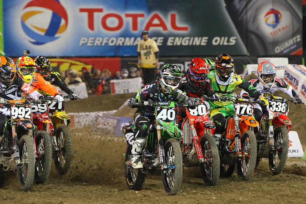 250 Heat Two - Photo Blast: Anaheim 1 - Motocross Pictures - Vital MX