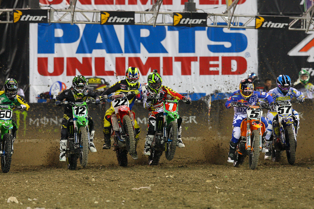 450 Heat One - Photo Blast: Anaheim 1 - Motocross Pictures - Vital MX