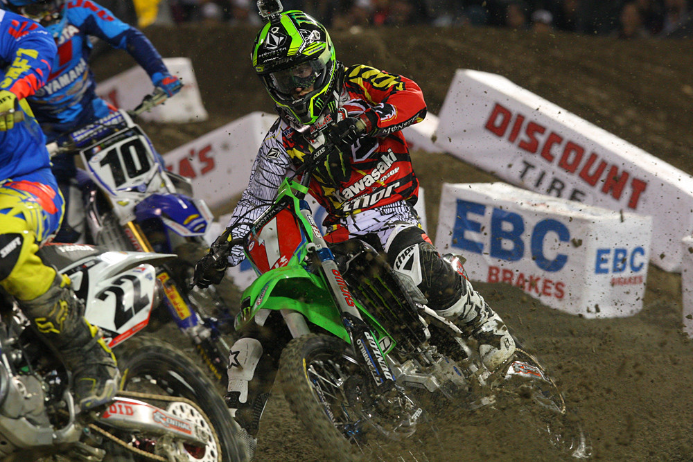 Ryan Villopoto - Photo Blast: Anaheim 1 - Motocross Pictures - Vital MX