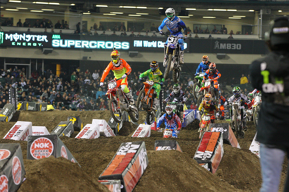 Christian Craig and Travis Baker - Photo Blast: Anaheim 1 - Motocross Pictures - Vital MX