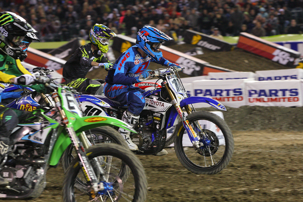 Justin Brayton - Photo Blast: Anaheim 1 - Motocross Pictures - Vital MX