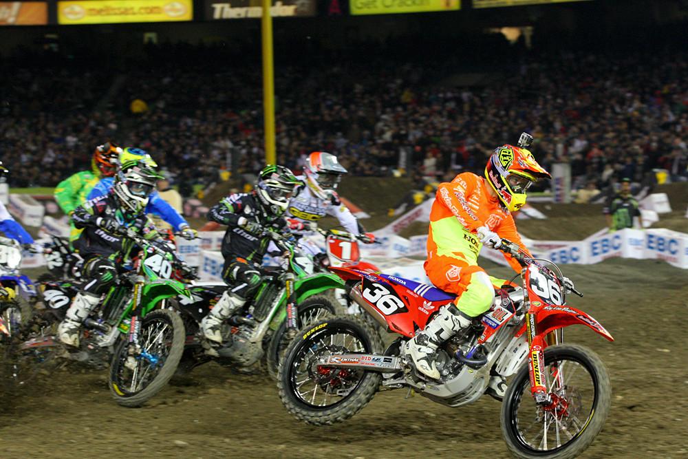 250 main event start - Photo Blast: Anaheim 1 - Motocross Pictures - Vital MX