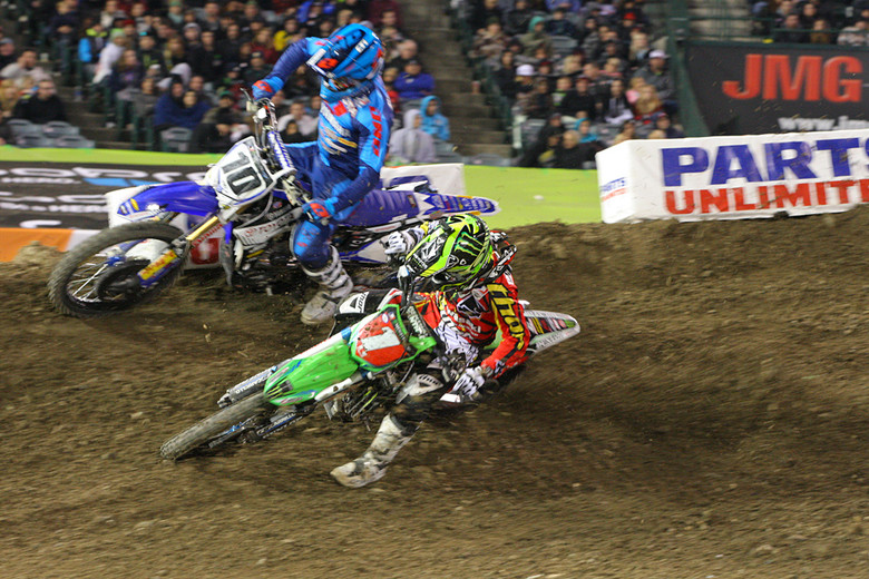 Ryan Villopoto is already 20 points away from the lead. Not the best start for 2013, but it's a long season and Ryan will have time to recover some points.
