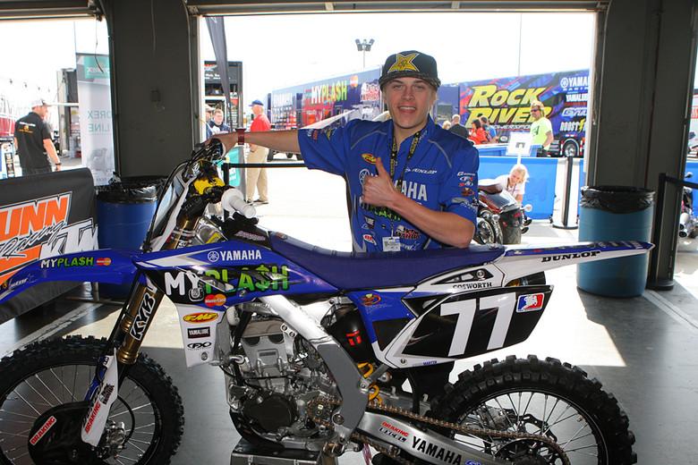 Jeremy martin vital mx pit bits daytona motocross for Martins yamaha ocala