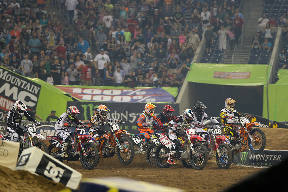 250 Heat One Start - Photo Blast: Houston - Motocross Pictures - Vital MX