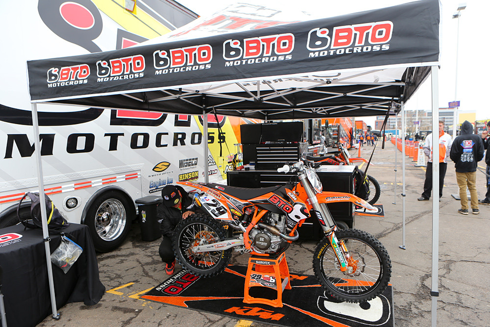 BTO Sports/KTM - Vital MX Pit Bits: Minneapolis - Motocross Pictures - Vital MX