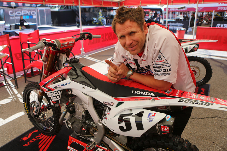 Mike Tomlin - Vital MX Pit Bits: Salt Lake City - Motocross Pictures - Vital MX