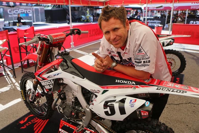 Mike Tomlin - Vital MX Pit Bits: Salt Lake City - Motocross Pictures - Vital MX