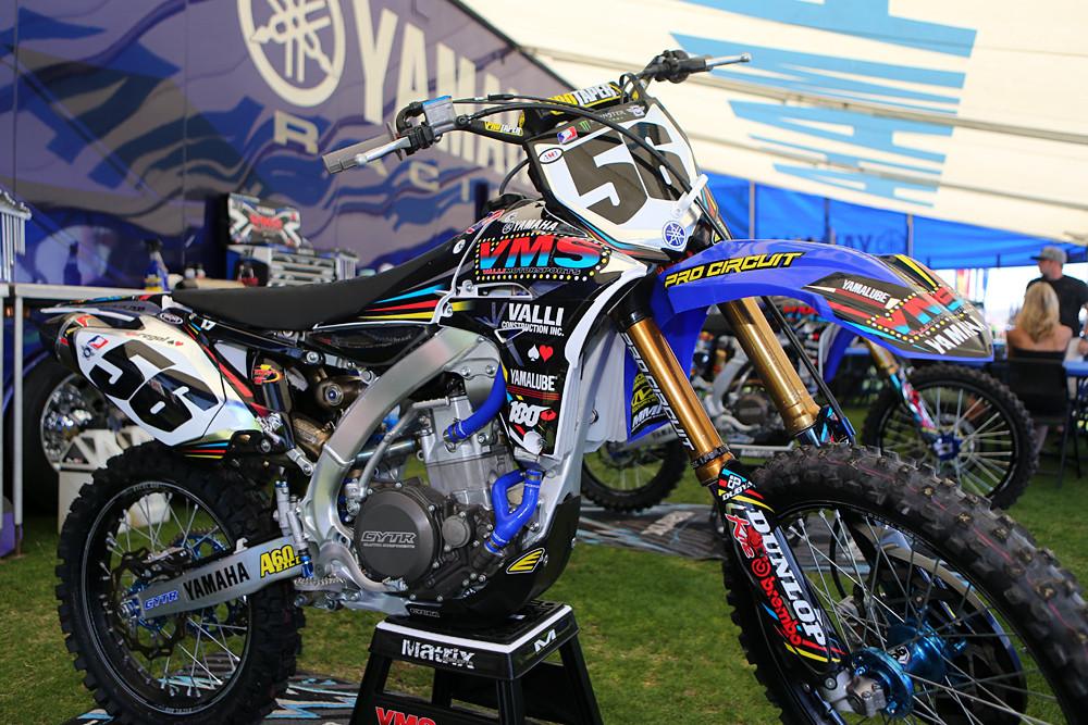 Valli motorsports yamaha vital mx pit bits las vegas for Yamaha of las vegas