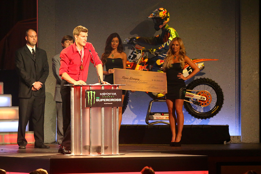 Ryan Dungey - 2013 Monster Energy Supercross Awards - Motocross Pictures - Vital MX