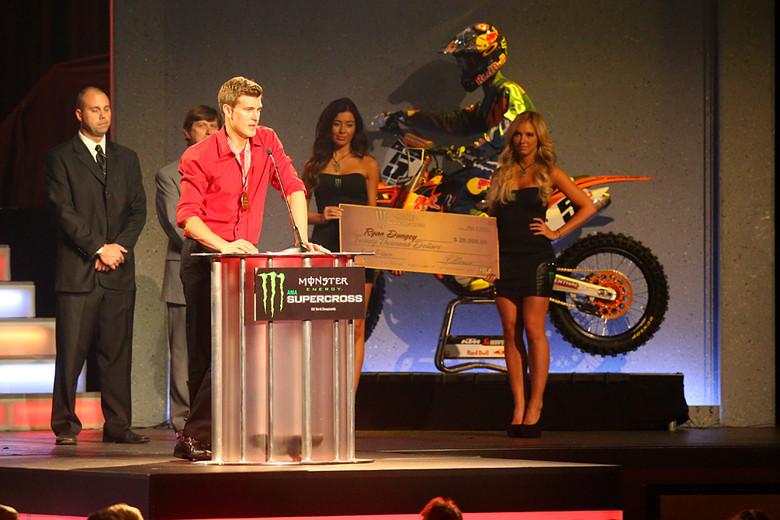 Ryan Dungey - 2013 Monster Energy Supercross Awards - Motocross Pictures - Vital MX