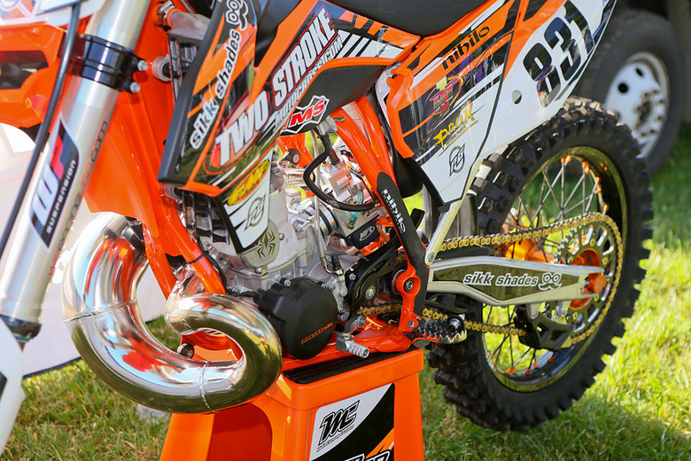 APT SmartCarb - Vital MX Pit Bits: Muddy Creek - Motocross Pictures - Vital MX