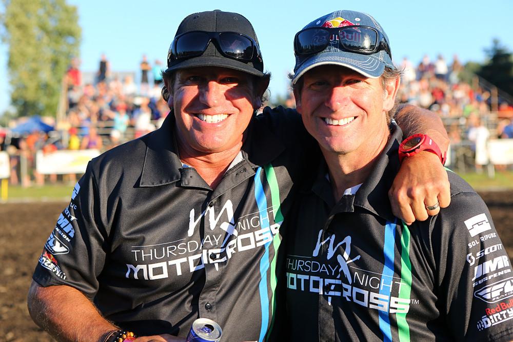 Rick and Ron Wylder - P.I.R. Thursday Night Motocross - Motocross Pictures - Vital MX