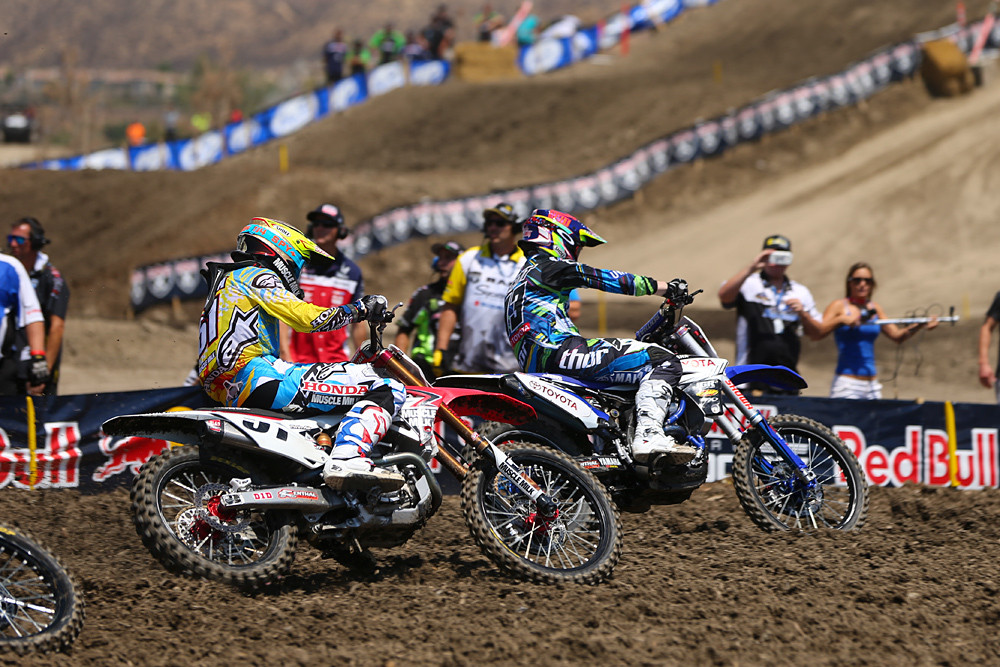 450 Moto One Start, Josh Grant - Photo Blast: Lake Elsinore - Motocross Pictures - Vital MX