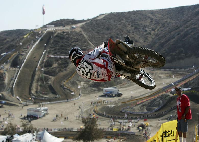Josh Grant - Vital MX Pit Bits: Glen Helen 2007 - Motocross Pictures - Vital MX
