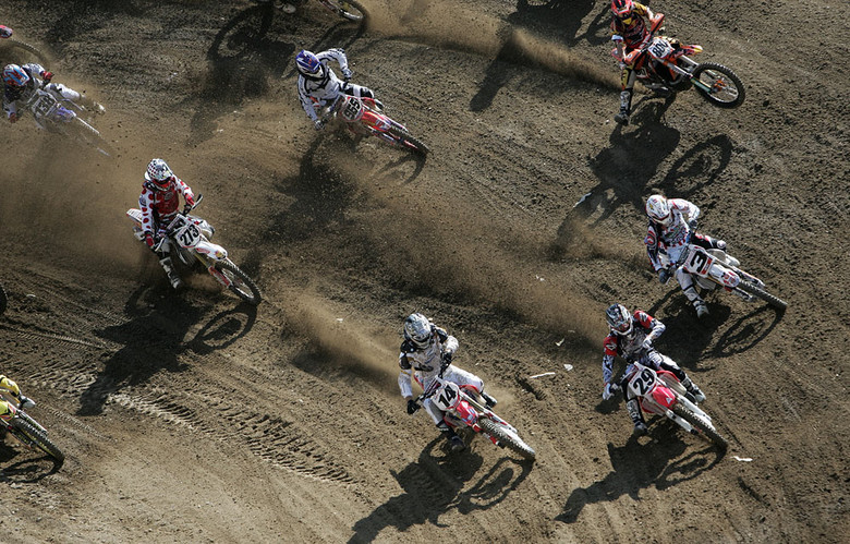 Andrew Short, Kevin Windham, Mike Brown, Mike Alessi - 2007 AMA National Motocross Series: Glen Helen - Motocross Pictures - Vital MX