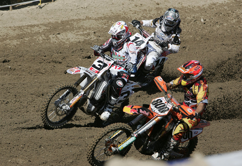 Mike Brown, Kevin Windham, Mike Alessi 4 - 2007 AMA National Motocross Series: Glen Helen - Motocross Pictures - Vital MX