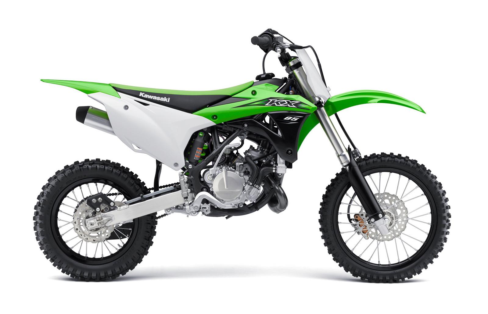 Kawasaki kx 85 bilder und technische daten 2017 2018