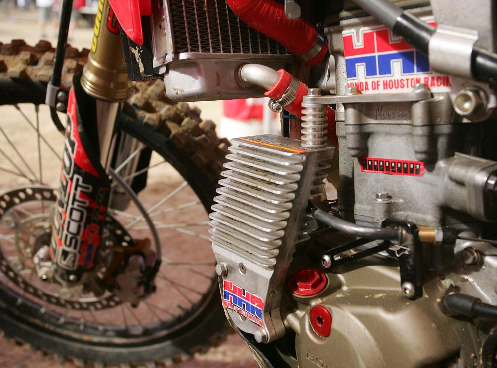 Honda of houston oil cooler 2007 white bros world vet for Honda of houston