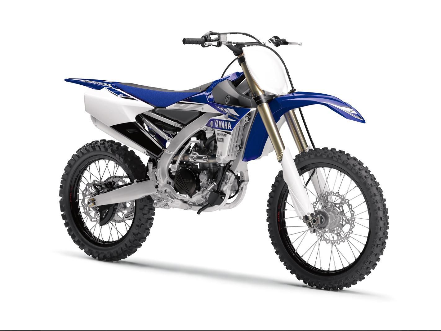 2017 Yamaha YZ250F - First Look: 2017 Yamaha Motocross and