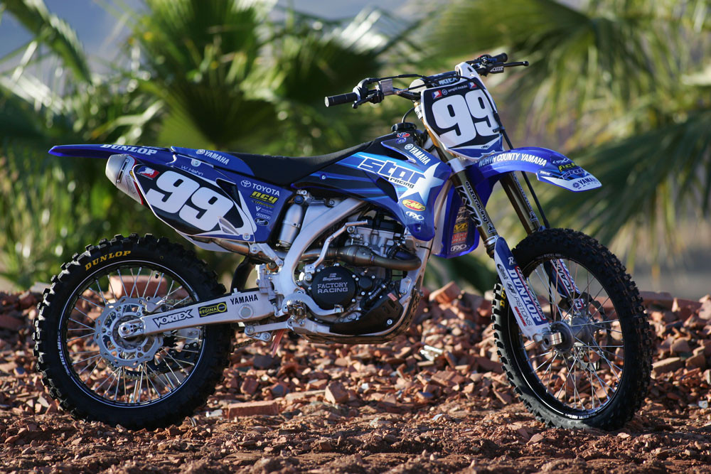 Wil hahn 2008 star racing yamaha team motocross for Yamaha racing team
