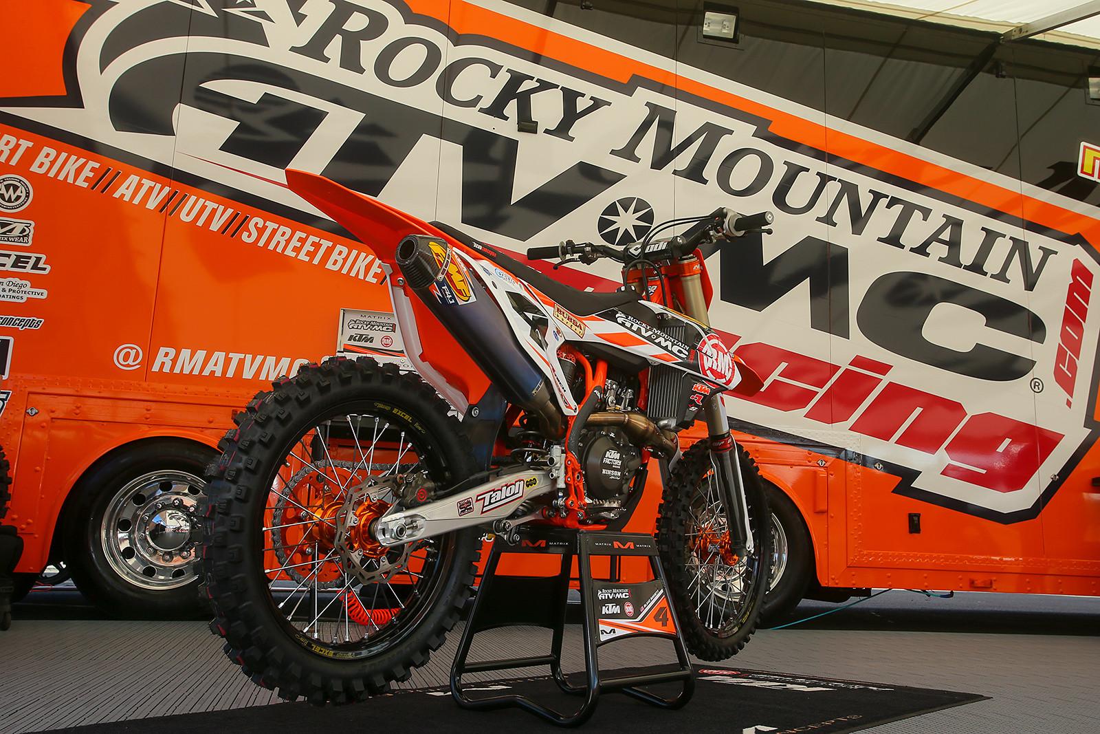 Blake baggett bikes of supercross 2017 motocross for Rocky mountain motor sports