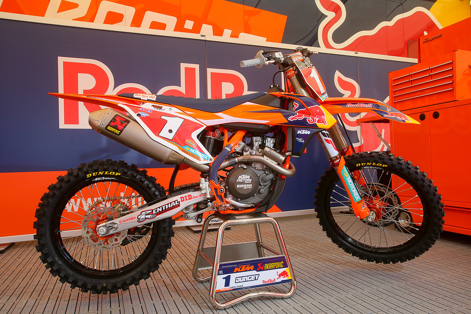 Ryan Dungey - Bikes of Supercross 2017 - Motocross Pictures - Vital MX