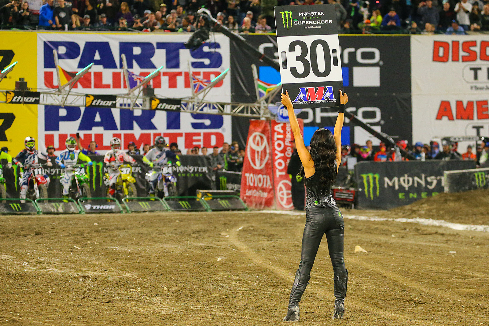 Photo Blast: Anaheim 1...30 seconds to #dropthegate - Photo Blast: Anaheim 1 - Motocross Pictures - Vital MX