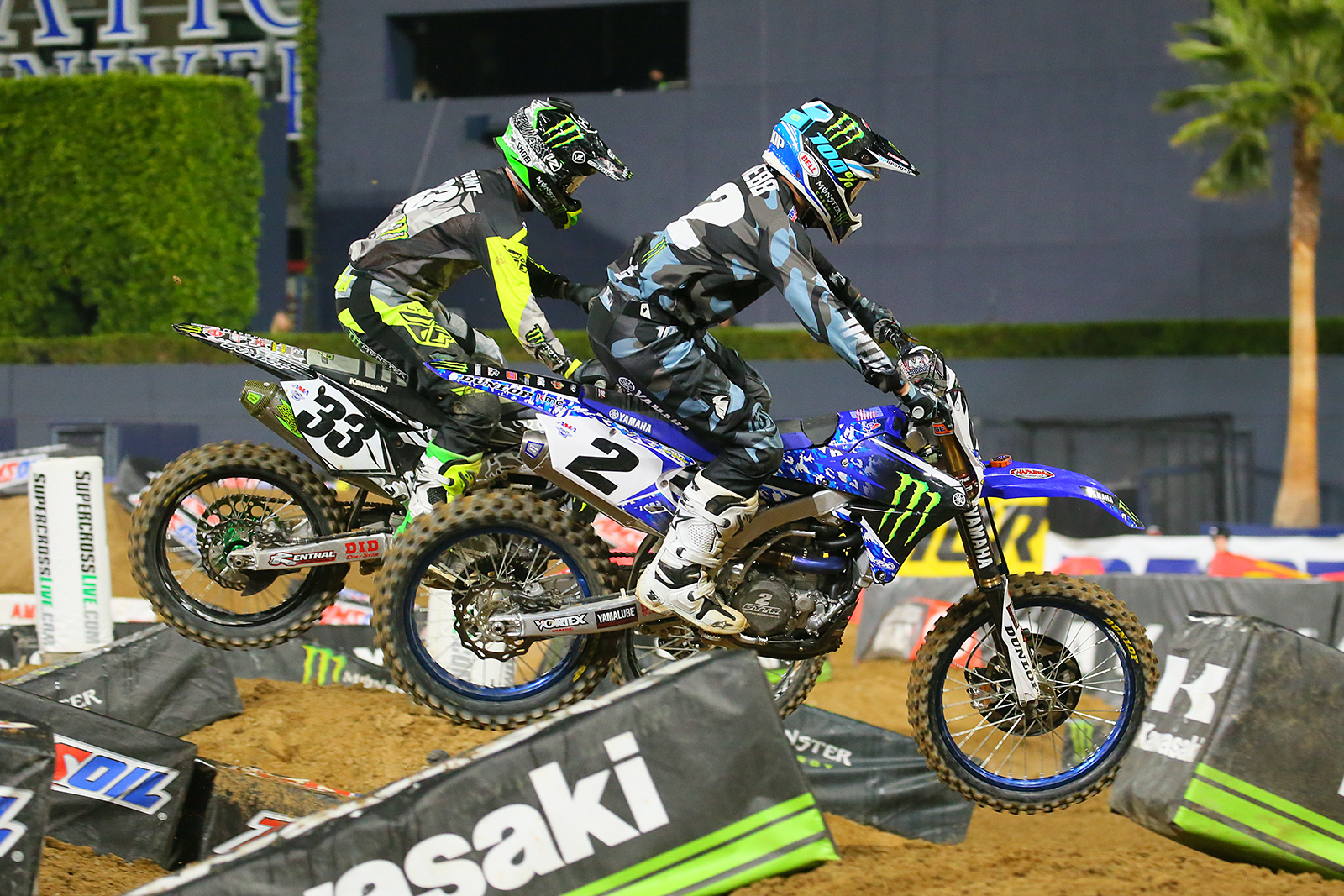 Cooper webb and josh grant photo blast san diego for San diego yamaha motorcycle dealers