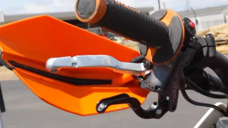 Rekluse Left Hand Rear Brake Kit - GuyB - Motocross Videos