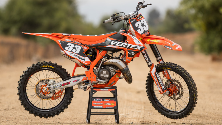 Tested: Project 2016 KTM 150 SX - Lynk's Racing/Vertex - Motocross