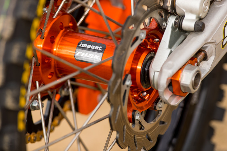 Tusk's Impact wheelsets are a great bargain for the average practice ride or weekend Joe looking for a spare set of wheels and some bling. No, they aren't a high-end wheelset but they're great bang for the buck.