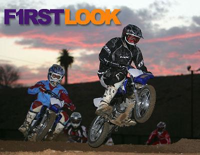 First Look: 2008 Yamaha TT-R Models - Motocross Feature Stories
