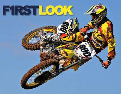 First Look 2008 Team Rockstar Makita Suzuki Motocross