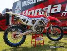Red Bud, White & Blue: Team Honda Muscle Milk's Red Bud Bikes