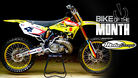 Bike of the Month: Digby Cooper's 2008 RM250 Carmichael Replica