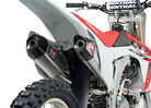What's New? 2013 Honda CRF450R Yoshimura RS-9 Exhaust