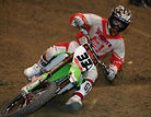 Lange Sweeps First Night at BooKoo Arenacross